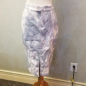 Banana Republic tie dyed floral pencil skirt (X12)